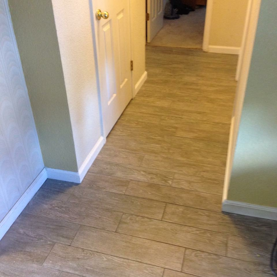 Photo gallery jobs completed porcelain wood look tile dailygadgetfo Images